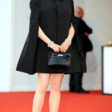 Venezia 2008: total black e tacchi vertiginosi per Amira Casar, protagonista di Nuit de chien
