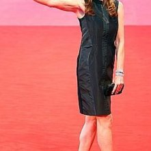 2008: Kathryn Bigelow, autrice di The Hurt Locker sul red carpet di Venezia 65.