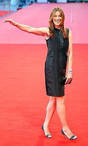 2008: Kathryn Bigelow, autrice di The Hurt Locker sul red carpet di Venezia 65.