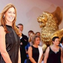 La bella Kathryn Bigelow, regista di The Hurt Locker a Venezia 65.