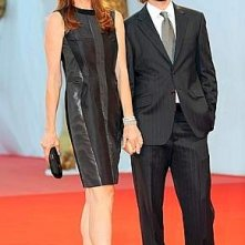 La regista Kathryn Bigelow, autrice di The Hurt Locker sul red carpet di Venezia 65.