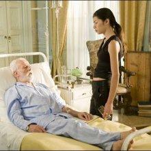 Lavinia Longhi e Antonio Sommella in una scena del corto Time is Up