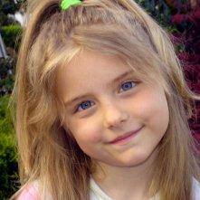 Primo piano di Chiara Guerra (all\'età di cinque anni)