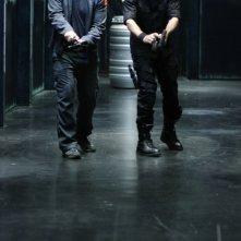 David Hewlett insieme a Joe Flanigan nell'episodio 'The Prodigal' della serie televisiva Stargate Atlantis