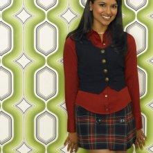 Dilshad Vadsaria nel ruolo di Rebecca Logan nella serie tv Greek