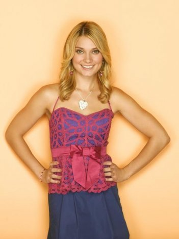 Spencer Grammer nel ruolo di Casey Cartwright nella serie tv Greek