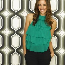 Tiffany DuPont nel ruolo di Frannie Morgan nella serie tv Greek