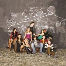 Una foto promozionale della seconda stagione della serie tv Greek