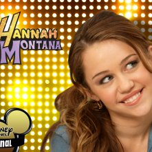 Milay Cyrus in un wallpaper di Hannah Montana