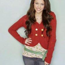 Miley Cyrus in una foto promozionale di Hannah Montana