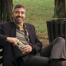 George Clooney in una scena del film Burn After Reading - A prova di spia