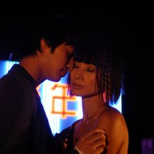 Bai Ling in una scena del film Shanghai Baby