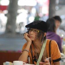 Bai Ling in una sequenza del film Shanghai Baby