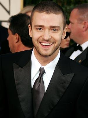 Il cantante e attore Justin Timberlake