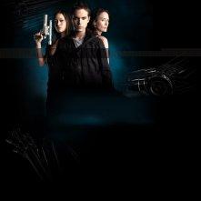 Il cast di Terminator: The Sarah Connor Chronicles in un wallpaper della seconda stagione