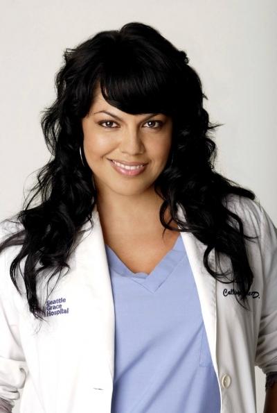 L'attrice Sara Ramirez in un'immagine promozionale del serial Grey's Anatomy