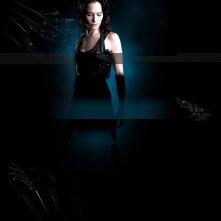 Lena Headey in un wallpaper della seconda stagione di Terminator: The Sarah Connor Chronicles