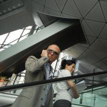 Luke Goss in una scena del film Shanghai Baby