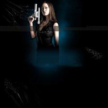 Summer Glau in un wallpaper della seconda stagione di Terminator: The Sarah Connor Chronicles