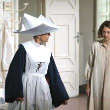 Alba Rohrwacher in una scena del dramma Il papà di Giovanna