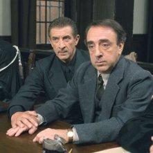 Silvio Orlando con Ezio Greggio in una scena del film Il papà di Giovanna