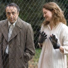Silvio Orlando e Alba Rohrwacher in una sequenza del film Il papà di Giovanna