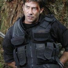 Il Colonnello Sheppard interpretato da Joe Flanigan nell'episodio 'Remnants' della serie Stargate Atlantis