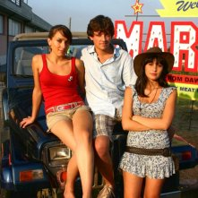 Elisa Sensi, Marco Martini e Rossella Caiani in un'immagine promo del film IN THE MARKET