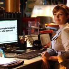 Erica Durance è Lois Lane nella serie televisiva Smallville, episodio: Plastique