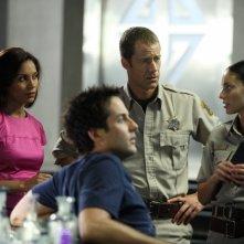 Salli Richardson insieme a Colin Ferguson nell'episodio 'Here come the suns' della serie tv Eureka