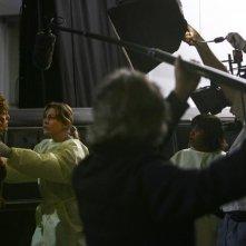 Bernadette Peters, Chandra Wilson e Ellen Pompeo sul set di Grey's Anatomy, episodio: Dream a little dream of me