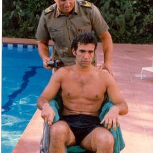 Fabio Galli e Adriano Pappalardo in una scena della serie tv Classe di ferro