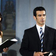 Fabio Galli in una scena della soap Centovetrine