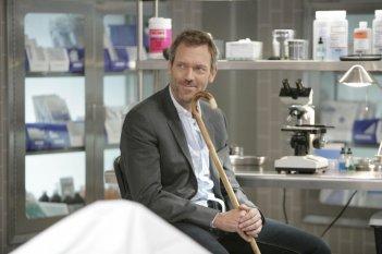 Hugh Laurie interpreta il Dottor Gregory House nell'episodio 'Not Cancer' della serie tv Dr. House