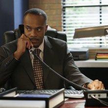 Rocky Carroll nel ruolo di Leon Vance nella serie tv NCIS, episodio: Last man standing