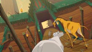 Un'immagine tratta dal film d'animazione L'arca di Noè