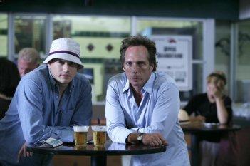 William Fichtner e Wentworth Miller nell'episodio 'Blow Out' della serie Prison Break