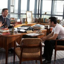 Alec Baldwin e Dane Cook in una scena del film My Best Friend's Girl