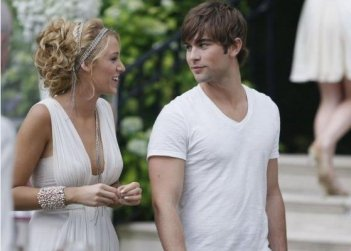Blake Lively e Chace Crawford nell'episodio 'Summer Kind of Wonderful' della seconda stagione di Gossip Girl