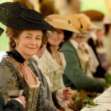 Charlotte Rampling in una scena del film La duchessa