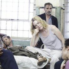 Danny Glover, Julianne Moore e Mark Ruffalo in una scena del film Blindness - Cecità
