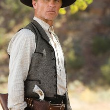 Ed Harris interpreta lo sceriffo Virgil Cole nel film Appaloosa