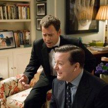 Greg Kinnear e Ricky Gervais in un'immagine del film Ghost Town
