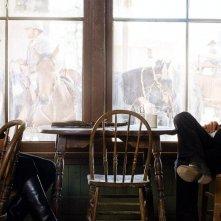 Jeremy Irons e Ed Harris in una scena del western Appaloosa