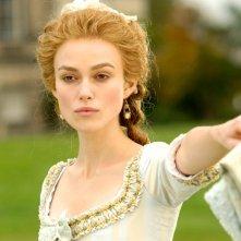 Keira Knightley in un'immagine de La duchessa