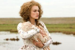 Keira Knightley in una scena de La duchessa