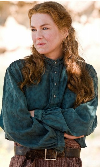 Renée Zellweger in una scena del western Appaloosa