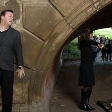 Ricky Gervais in un'immagine del film Ghost Town