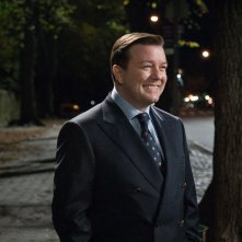 Ricky Gervais interpreta il dentista Bertram Pincus nel film Ghost Town