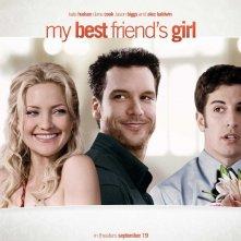 Un wallpaper del film My Best Friend's Girl con Kate Hudson, Dane Cook e Jason Biggs